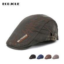 Модные береты с вышитыми буквами для мужчин и женщин, уличная шляпа в стиле Гэтсби, кепки, регулируемая бейсболка, кепки Boina