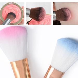 Blush Makeup Brush Powder Brush Wool Fiber face Makeup Brushes Rouge Brush Large Foundation Highlight Shadow Brush