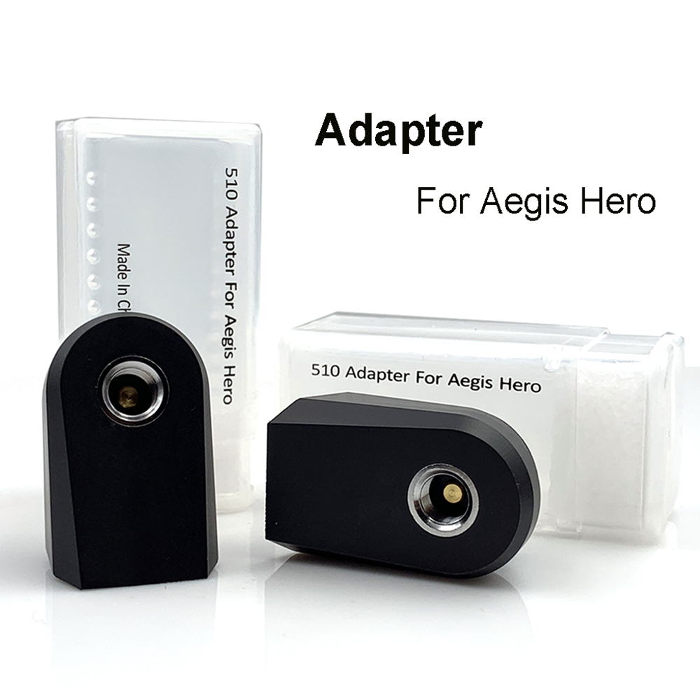 RunVape 510 Adapter for Aegis Hero Pod Kit E Cigarette 510 Thread Connector Vape Accessoies