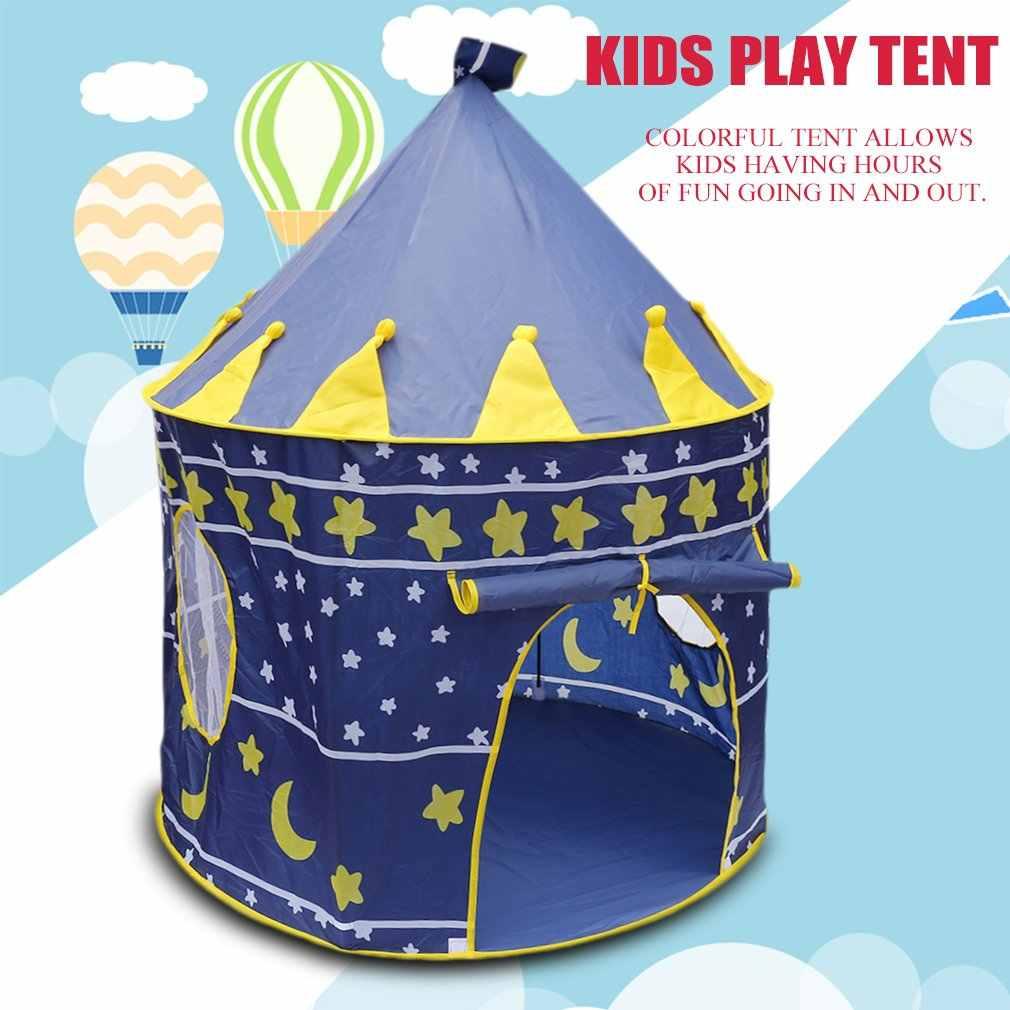 Tienda de juegos portátil plegable Tipi Prince, tienda plegable, casa de juegos para niños, regalos para niños, tiendas de juguete al aire libre