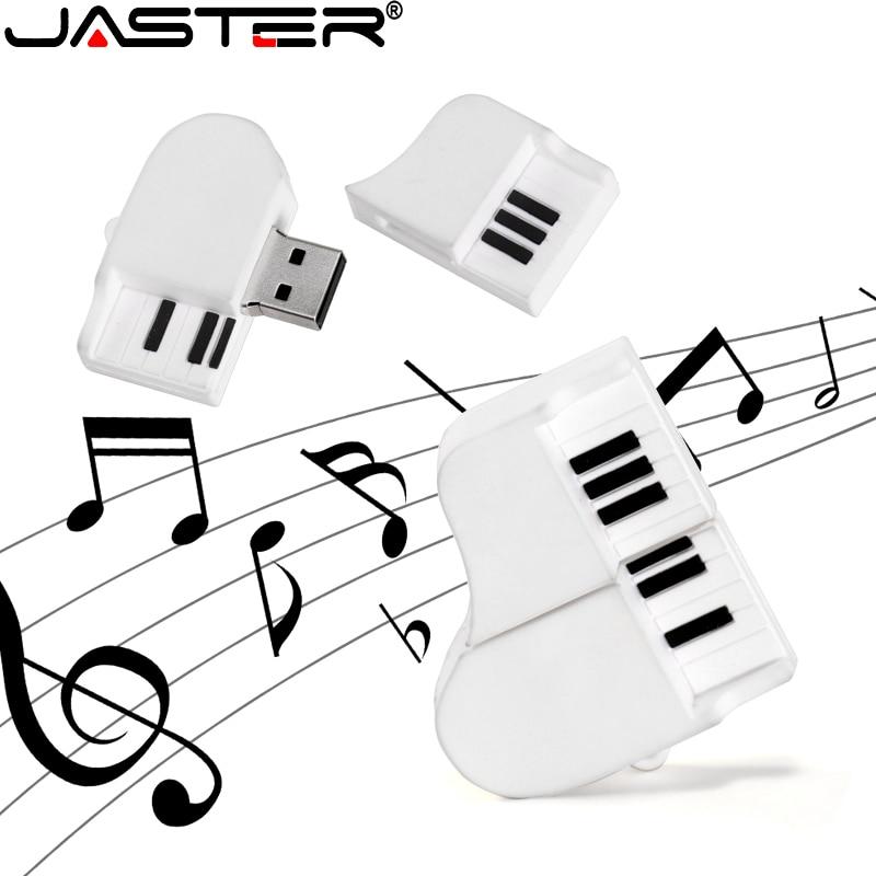 JASTER USB Flash Drive 16GB 32GB64GB Cartoon USB 2.0 Grand Piano 4GB8GB 128GB Ornament Computer Accessories Storage Usb Pendrive