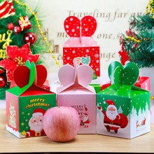Christmas Decorations Peace Fruit Gift Box Apple Eve Packaging Variety Wholesale