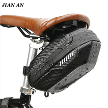 Bicycle Saddle Bag Waterproof MTB Bike Rear Bag Reflective Cycling Rear Seat Tail Large Bag Bike Accessories rockbros bicycle saddle bag bike mtb road bike tools seat bag water bottle cycling bag waterproof cycling rear seat tail bag