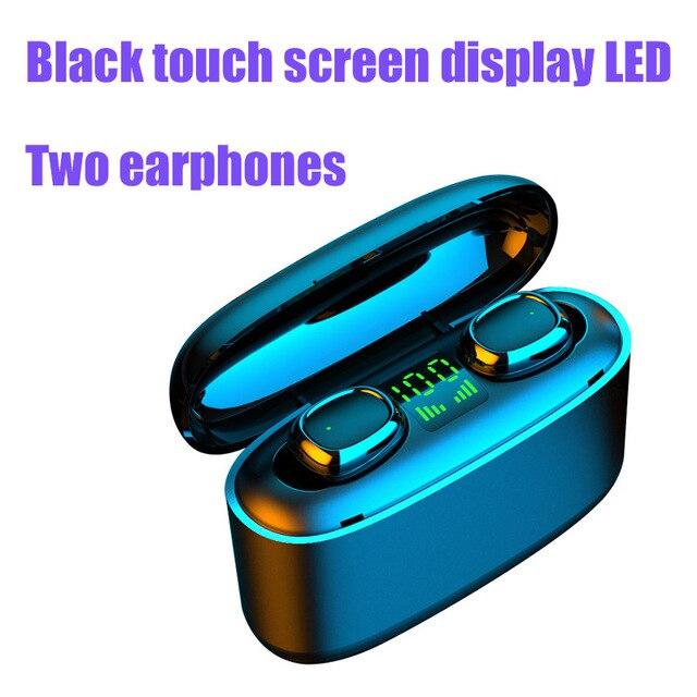 G5S Double LED Black