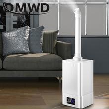 DMWD الصناعية الهواء مرطب بالموجات فوق الصوتية كتم التجارية سوبر ماركت الخضروات ضباب صانع 11L مبيد رذاذ أنيون المرطبات