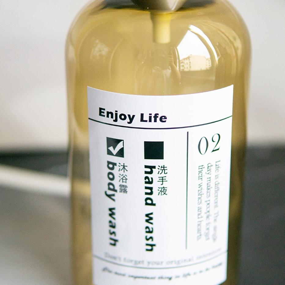 Heb9b60901e2f4600b03791315f0f5effJ Soap Dispenser Bottle Kitchen Hand Sanitizer Bottle Cosmetics Shampoo Body Wash Lotion Bottle Outdoor Travel Tools