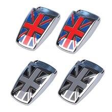 1 זוג בריטניה עיצוב סגנון רכב חלון מגב מכונת כביסה זרבובית תרסיס מכסה למיני קופר R55 R56 R57 R58 R59 f56 F55