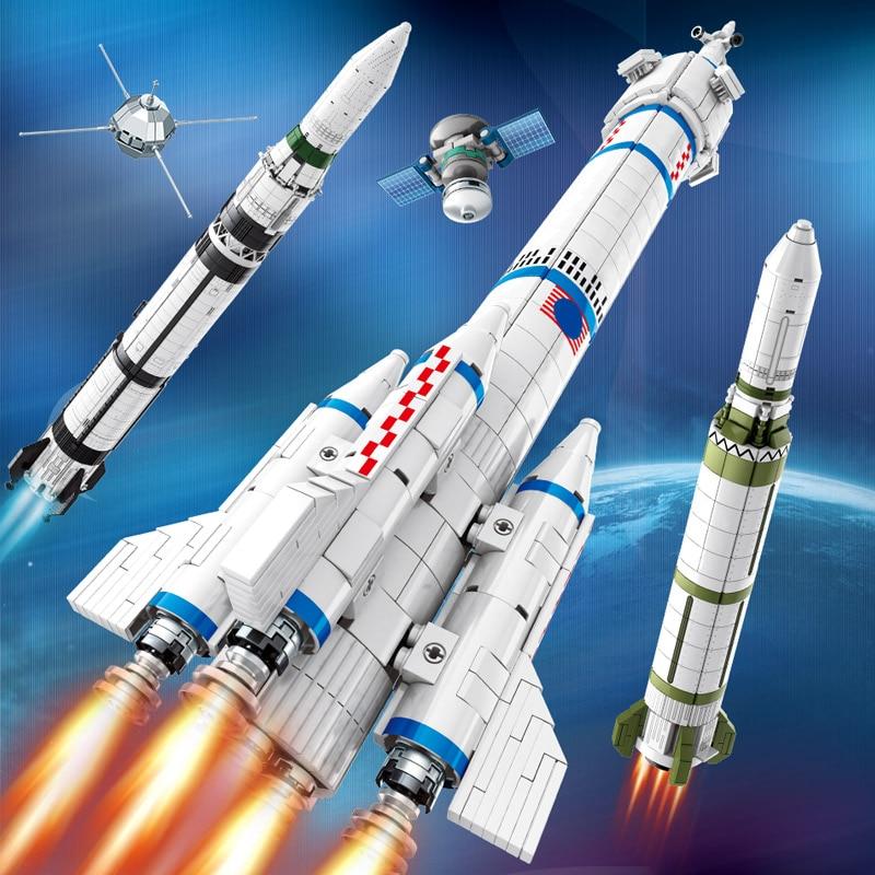 SEMBO Block Aviation Rocket Building Blocks