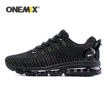 ONEMIX Air Cushion Sneakers For Men Running Shoes Women Comfortable Damping Cushion Breathable Outdoor Walking jogging shoes onemix men flash running shoes air cushion wearable sport shoes breathable comfort fitness sneakers outdoor casual walking shoes