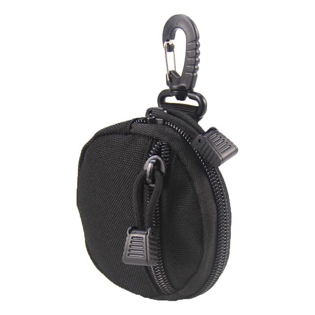 porte monnaie tactique militaire pour clés, Mini porte-monnaie, poche pour pièces de monnaie de l'armée avec crochet, sac de ceinture 2
