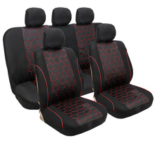 Full Coverage flax fiber car seat cover auto seats covers for mitsubishimontero outlander 3 xl pajero 2 3 4 sport space star