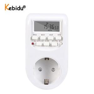 Image 2 - Spina di UE di Smart Digital Timer Presa di Risparmio Energetico Interruttore di Alimentazione 230V AC Regolabile Impostazione Programmabile di Orologio/On /Off Tempo