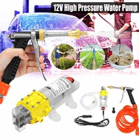 Car Washer 12V GunPump High Pressure Cleaner Care Washing Machine Electric Cleaning Auto Wash maintenance Tool Accessories