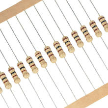 100pcs 1/2w 0.5W 5% Resistor de Filme de Carbono 1R ~ 1M 2.2R 10R 22R 47R 51R 100R 150R 470R 47 10 1K 4.7K K K 1 2.2 10 22 47 51 100 150 ohm