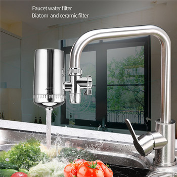 Kitchen Tap Water Purifier Household Faucet Filter Activated Carbon Water Filter Filtro Rust Bacteria Removal Water Cartridge xiaomi mijia faucet water purifier filter kitchen tap filter water purifier with 4pcs free activated carbon