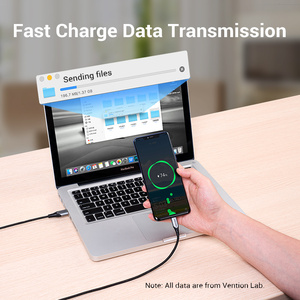Image 5 - Vention USB Type C Cable 3A Charger Cable Fast Charging for Samsung S10 S9/Xiaomi mi9 10 pro/Huawei USB C Mobile Phone Cables 3m