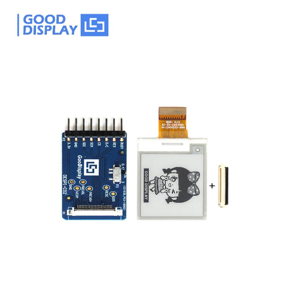 1.54 Inch E-ink Display With Demo Kit