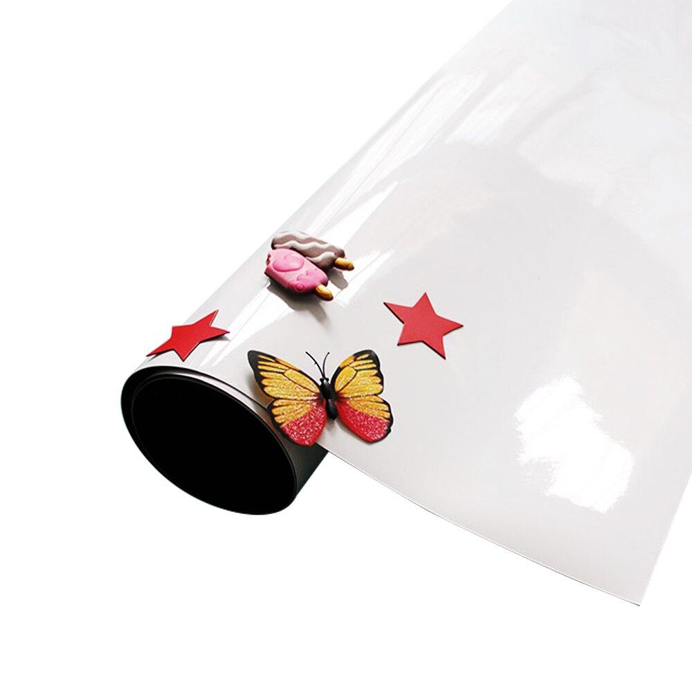 Сухая салфетка детской комнаты Наклейка Декор доска стены Стикеры держать магниты самоклеящаяся 100x60 см офисная чашка белая доска записи - 2