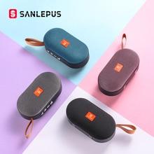 SANLEPUS Мини Bluetooth динамик портативный беспроводной динамик звуковая система 3D стерео музыка объемный Поддержка Bluetooth, TF AUX USB