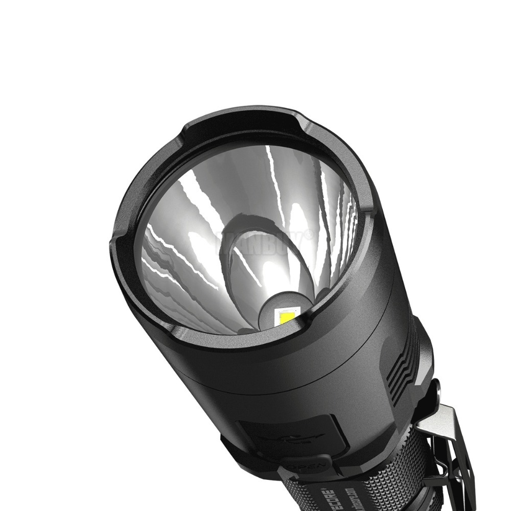 Commercio all'ingrosso NITECORE MH20GT Ricaricabile 1000LMs XPL HI V3 HA CONDOTTO il MINI Lampada Torcia Elettrica Impermeabile Senza Batteria 18650 di Campeggio della torcia - 6