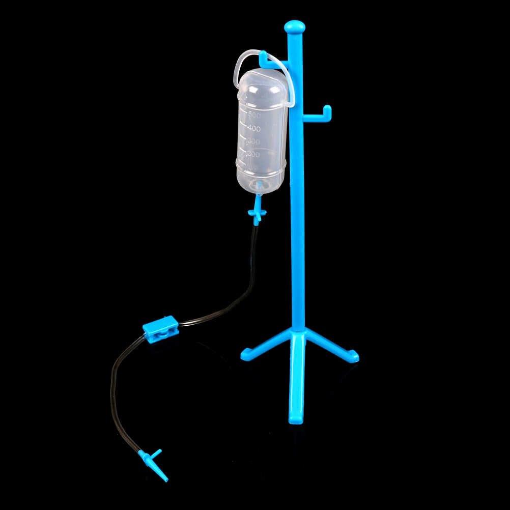 1 Set Role-Playing Games Kind Medische Kit Met Opknoping Fles Simulatie Ziekenhuis Fantasiespel Arts Speeltoestel Speelgoed voor Kinderen