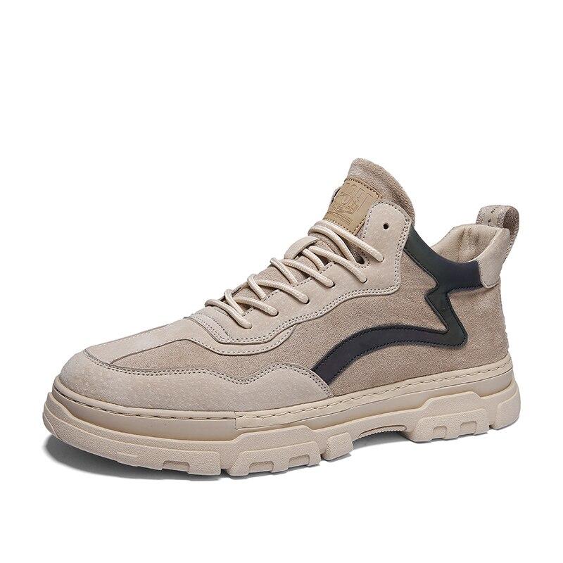 Купить ботинки мужские рабосветильник из пу кожи модные повседневные