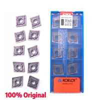 Inserti Originale di 100% di Alta Qualità CNMG120404 CNMG120408 HA PC9030 Tornitura Esterna Strumento Inserto In Metallo Duro Per Acciaio Inox