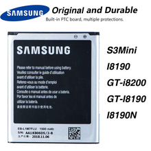 Original Samsung EB-L1M7FLU Battery For Samsung Galaxy S3 Mini S3Mini I8190 GT-i8200 GT-I8190 I8190N NFC 1500mAh original samsung eb l1m7flu battery for samsung galaxy s3 mini s3mini i8190 gt i8200 gt i8190 i8190n nfc 1500mah