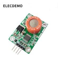 Modulo sensore di rilevazione alcool TGS822 uscita seriale etanolo sensore di gas di alcol a base di misura