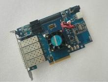 Xilinx placa de desenvolvimento xilixn fpga placa de desenvolvimento pcie placa kintex 7 xc7k420t xc7k325t xilinx
