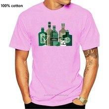 T-Shirt imprimé hommes c'est un monde de GIN, alcool, esprit, baies de genièvre T-Shirt T-Shirt col rond