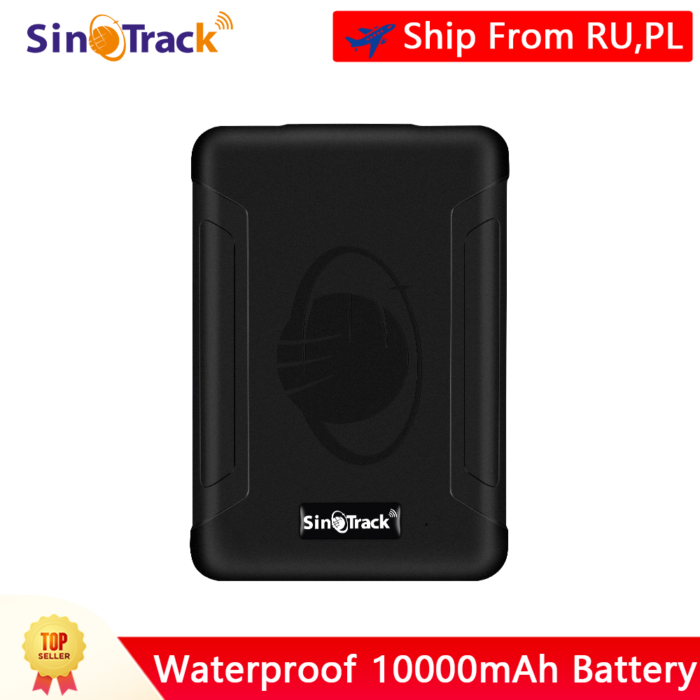 Taxi SinoTrack GPS Tracker ST-915W 3G Strong Magnet Tracking Device Locator for Vehicles Bus Waterproof Real-Time Car GPS Tracker with Free Software for Car Motorcycle etc