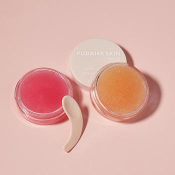 1pc Lip Scrub Mask Lip Plumper Moisture Lip Balm Exfoliating Anti-Ageing Scrub Lip Film Nourish Repair Fine Lines Lips Care 1