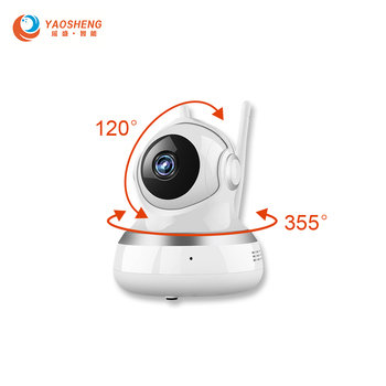 Free Ship 720P 1080P HD Indoor IP Camera Wireless WIFI Smart Camera Two Way Audio Home Security Surveillance Camera Baby Monitor free shipping vstarcom hd 720p cube ip camera wifi two way audio smartphone surveillance smart home ip cameras p2p