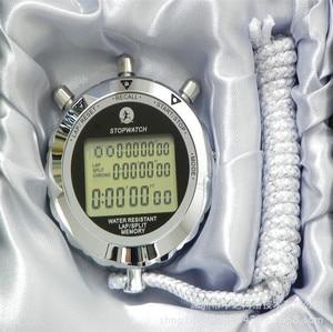Image 2 - 金属デジタルタイマースポーツストップウォッチ防水メモリカウンター耐磁クロノグラフファッショナブルな防水タイマーPS 538