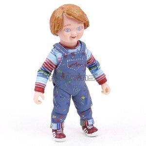 "Image 4 - NECA Childs לשחק טוב חבר ה אולטימטיבי צ אקי PVC פעולה איור אסיפה דגם צעצוע 4 ""10cm"