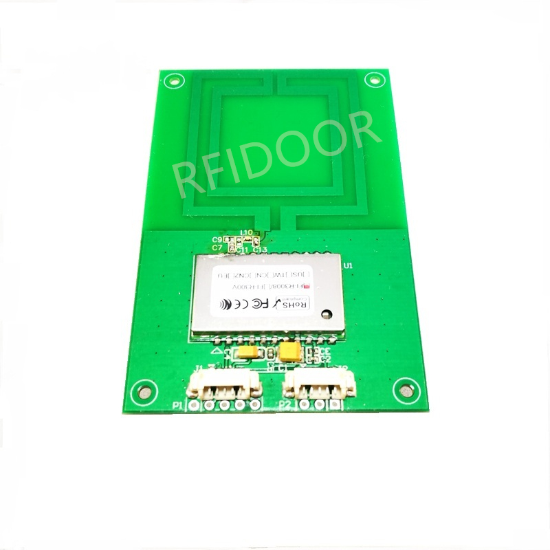 UHF Radio Frequency Identification RFID Close-range Integrated PCB Dual Loop Antenna UART Serial Port Reader