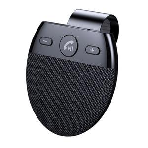 Image 2 - Phaany zestaw samochodowy Bluetooth bezprzewodowy zestaw głośnomówiący odbiornik Audio samochodowy odtwarzacz MP3 z obsługą mikrofonu 2 telefon podłączony