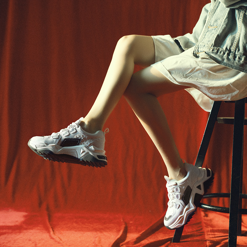 Повседневная Белая обувь; женские кроссовки на платформе; модная брендовая обувь из натуральной кожи; zapatos de mujer; женская обувь на толстой подошве; обувь для папы - 5