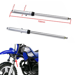 Front Fork Tubes Shocks Absorber Set Silver For Honda CG125 CT90 CT110 Motorcycle Trail Bike Adjustable High Quality