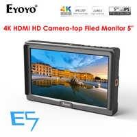 "Eyoyo 5 ""E5 Kamera Feld DSLR Monitor Kleine Volle HD 1920x1080 IPS 4K HDMI eingang Ausgang video Focus Assist für Sony Nikon Canon"