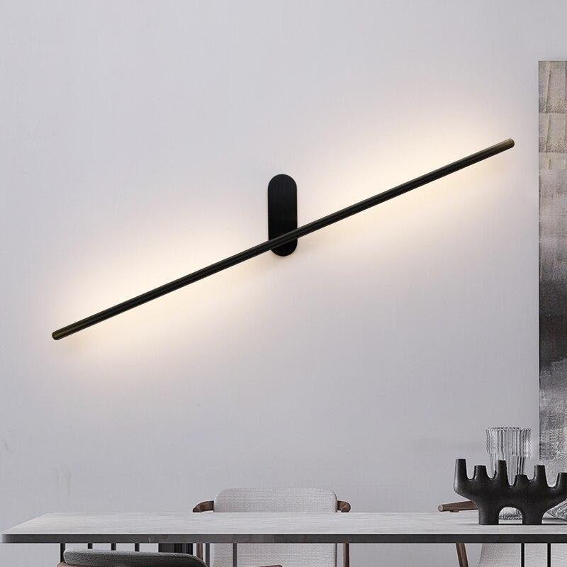 sconce moderno conduziu a lampada de parede forbedroom sala estar nordic led luzes parede decoracao da