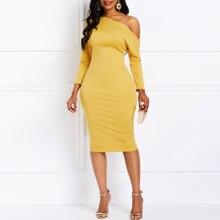 Облегающее платье на одно плечо с Коктейльные Вечерние для женщин