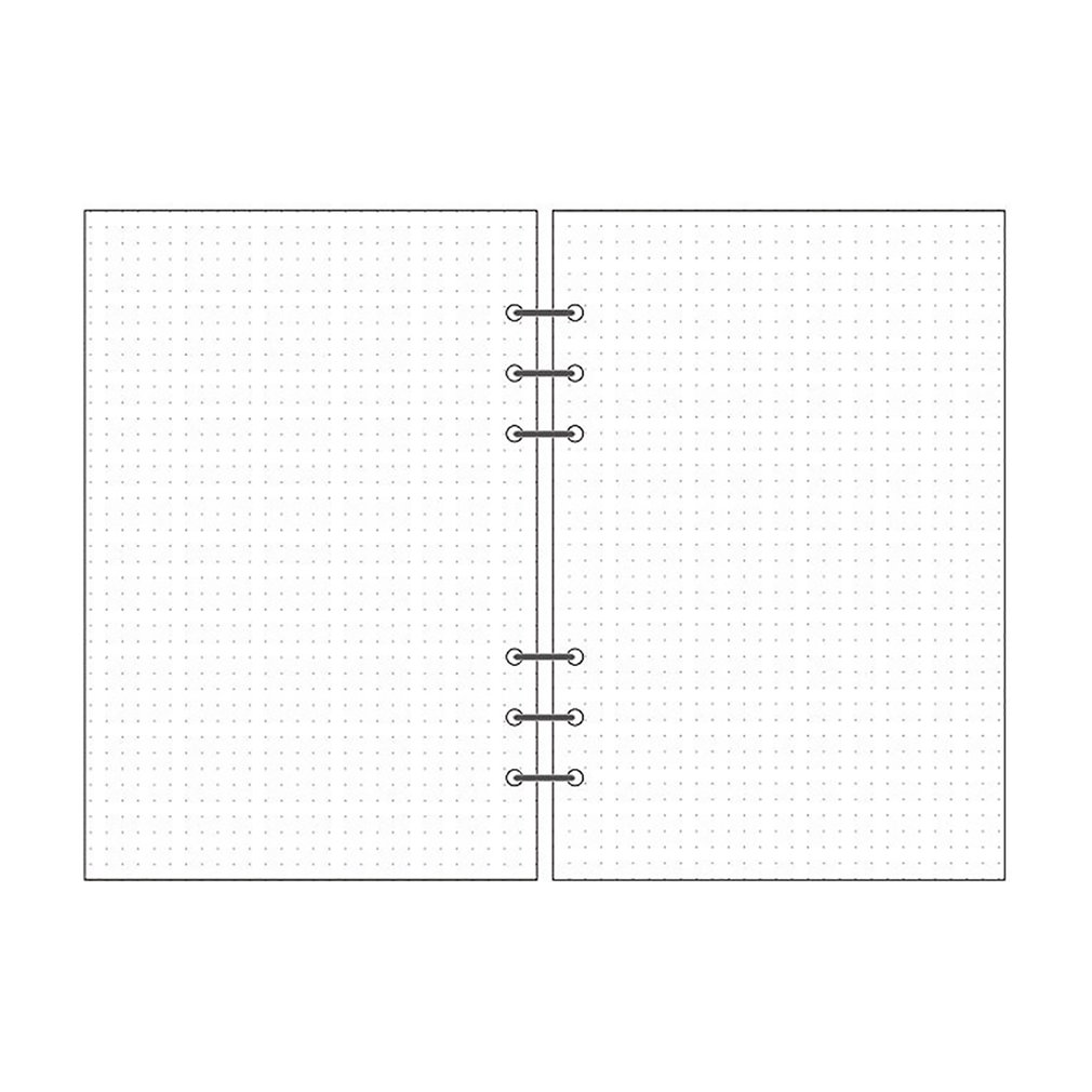 6-Hole Loose-Leaf Refills Loose-Leaf Paper Notebook Refills Inside The Notebook Notepad Core A5/A6/A7