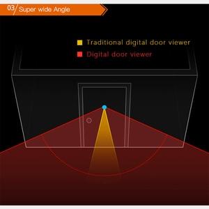 Image 4 - 2.8 インチ液晶カラー画面デジタルドアベル赤外線モーションセンサーロングスタンバイナイトビジョン HD カメラ屋外ドアベル
