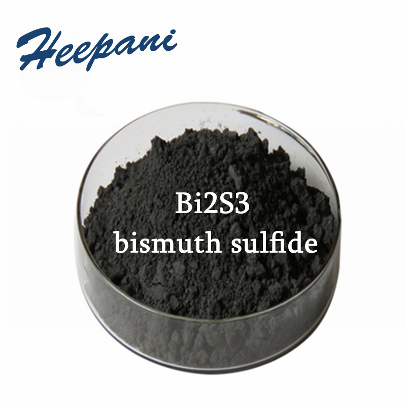 Free Shipping 500G Bi2S3 Powder With 99.9% Purity Ultrafine Bismuth Sulfide Powder 0.5um / 1um / 5um Microparticle Lump Powder