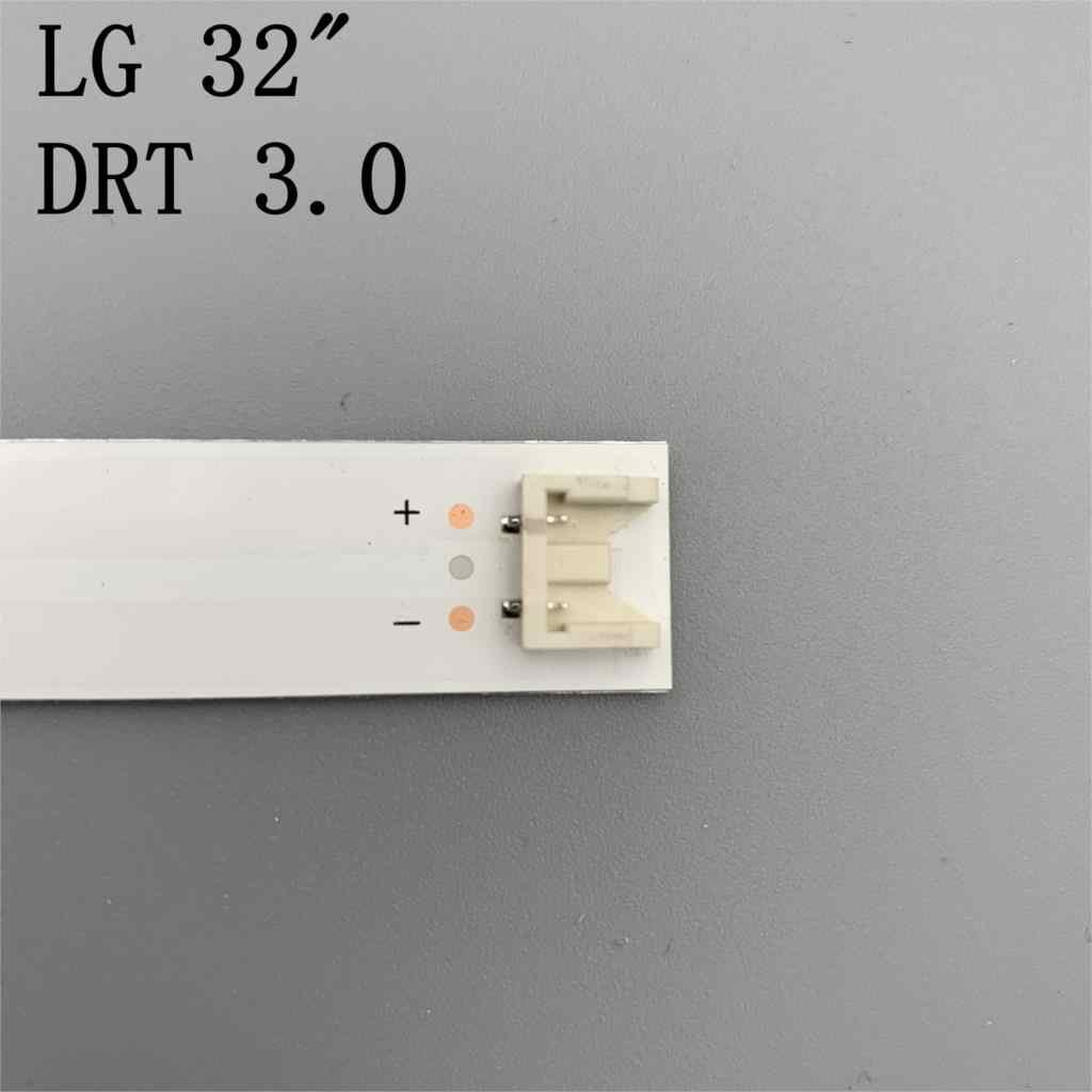 "3 × LED شريط إضاءة خلفي ل LG 32 ""TV inنوت k drt 3.0 32 LG IT drt3.0 WOOREE A/B UOT 32MB27VQ 32LB5610 32LB552B 32LF5610 lg 32lf560"