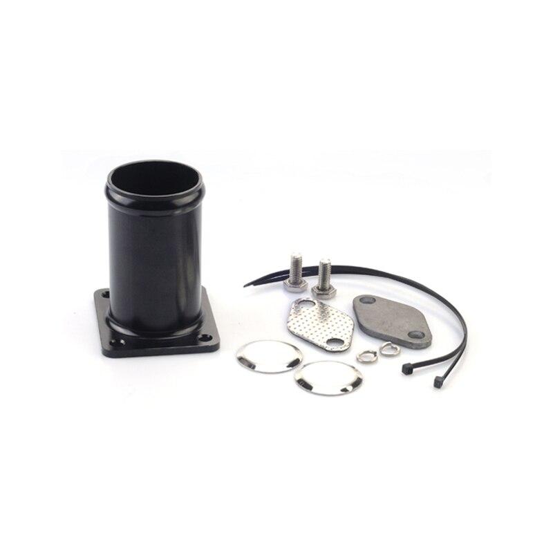 Alluminio Egr Corredo di Rimozione/Egr Elimina Kit Tranciatura Bypass per Bmw E46 318d 320d 330d 330xd 318td 320cd 320td