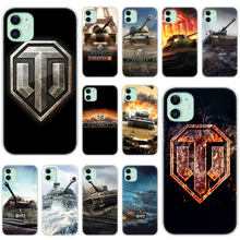 Hot Video Game world of tanks Soft Silicone Case for Apple iPhone 11 Pro XS Max X XR 6 6s 7 8 Plus 5 5s SE Fashion Cover(China)
