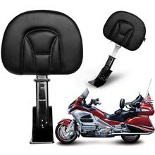 Motorcycle Accessory Plug-N-Go Driver Front Seat Backrest Pad
